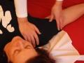 Behandlung mit dem Daumen