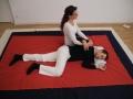 Rotation Schultergelenk in Seitenlage